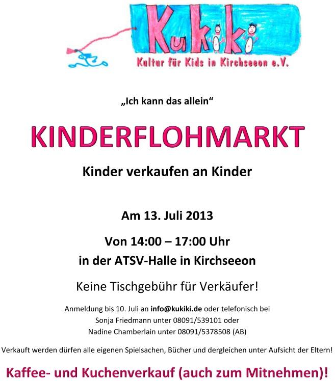 Kukiki-Flohmarkt